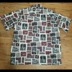 The Hawaiian Original Shirts - The Hawaiian Original Halo Hattie Shirt 3XL
